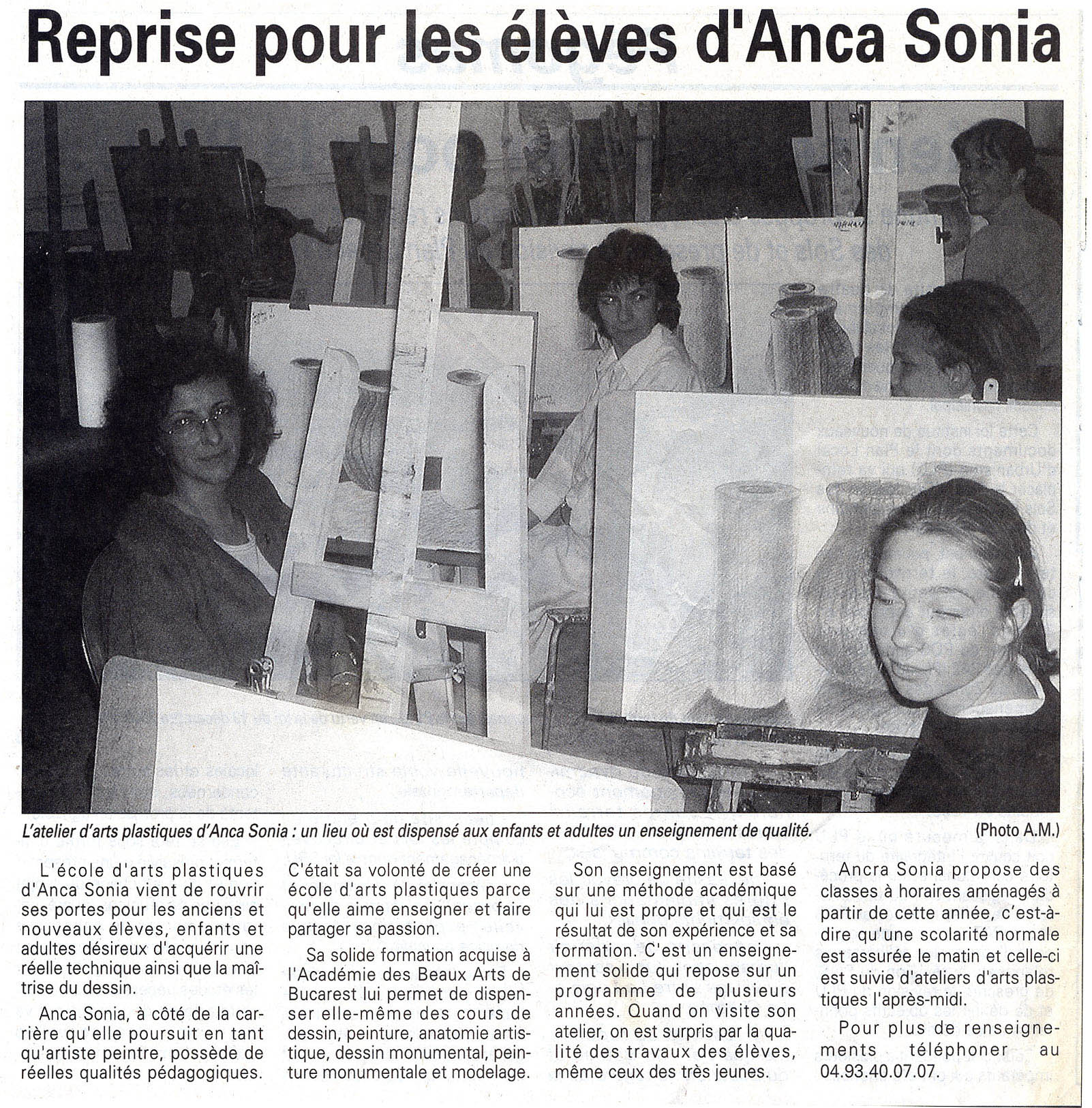 2001-10-18-Nice-matin-reprise-pour-les-eleves